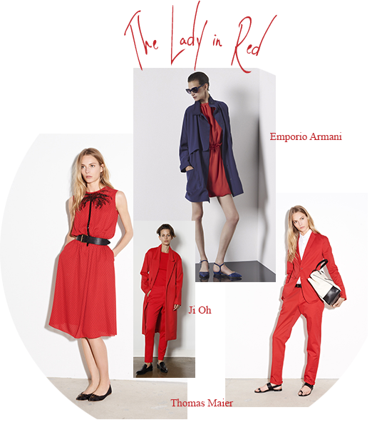 collection croisiere 2015 rouge