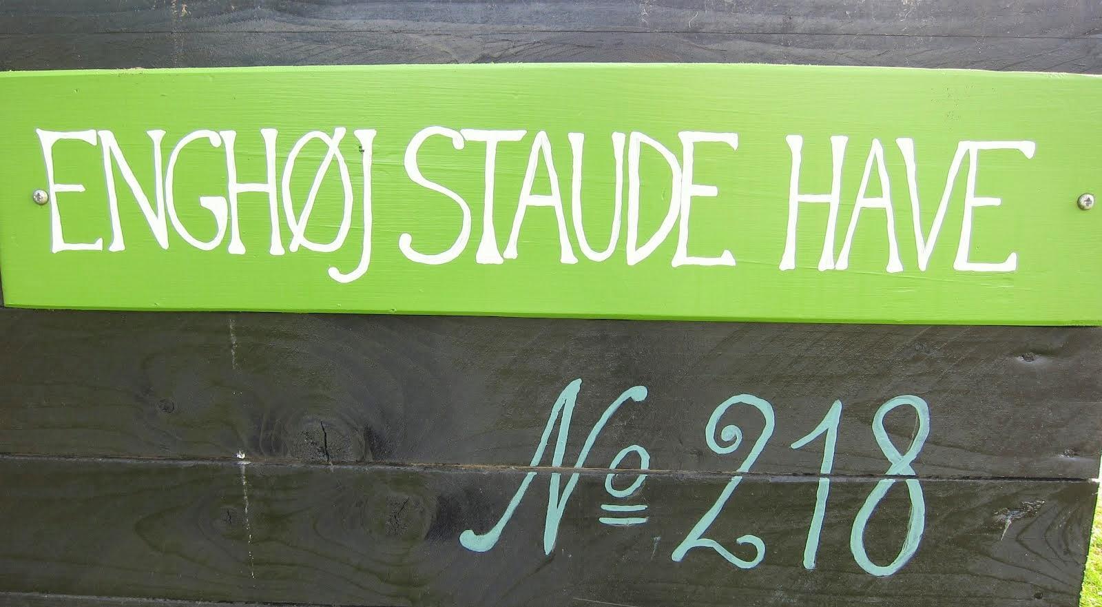 Enghøj Staude Have