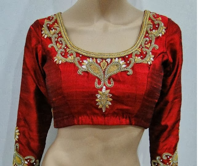Models Of Blouse Designs Latest Fashion Blouse Designs In