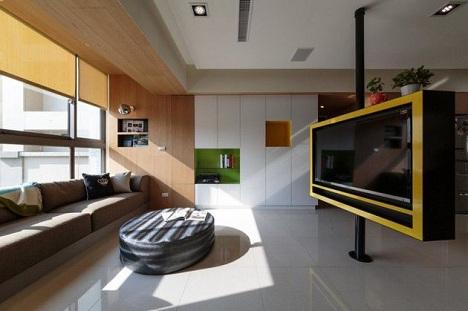 Ý tưởng thiết kế nội thất độc đáo và sáng tạo