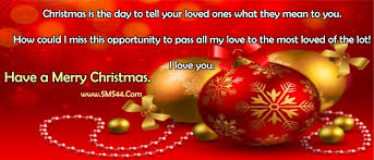 Merry Christmas Romantic Messages