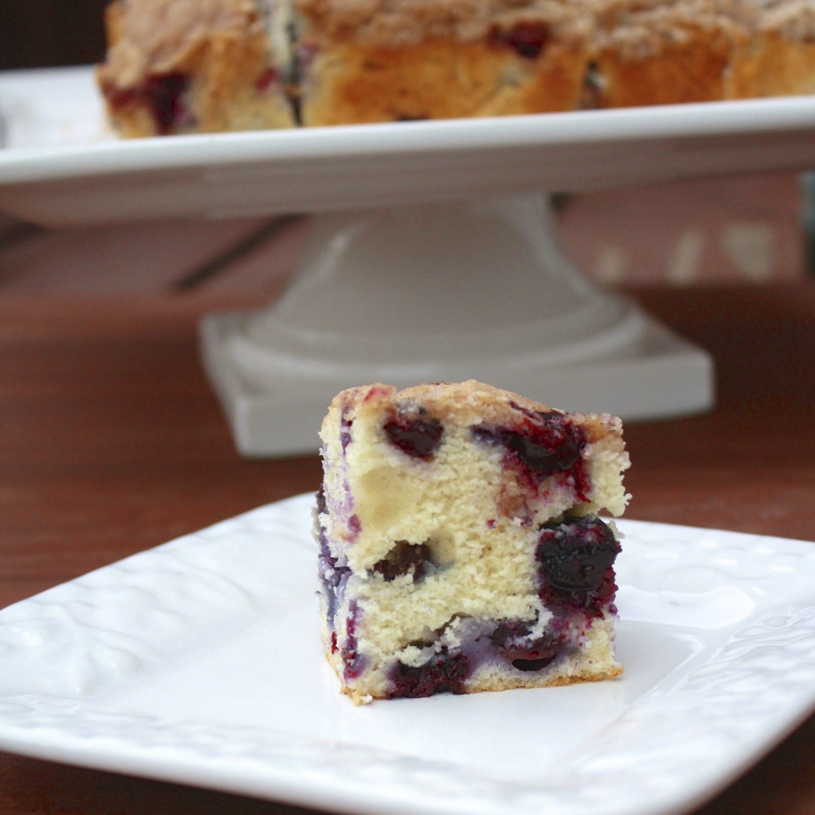 Blueberry Buckle Coffee Cake   The Sweets Life