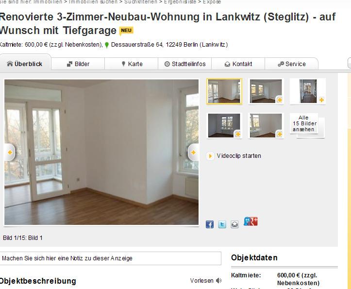 Renovierte 3 zimmer neubau for 3 zimmer wohnung delmenhorst