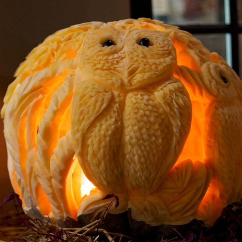 My Owl Barn Happy Halloween 5 Amazing Pumpkin Carvings