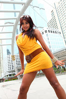 Sanjana Hot Stills in Jagan Nirdoshi Movie