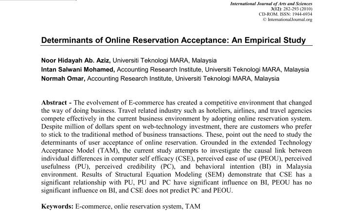 Research paper on accounting information system