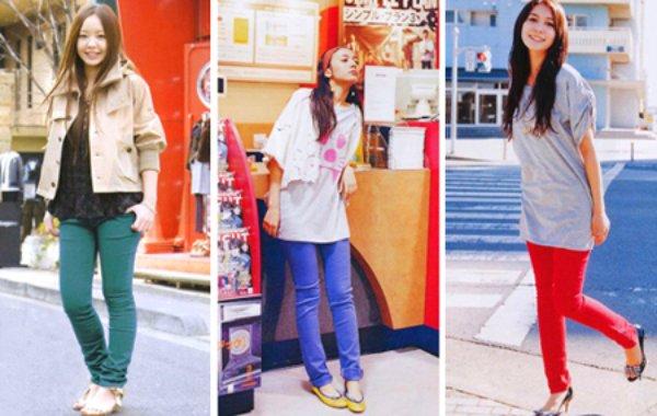 Jeans de colores: anímate a llamar la atención