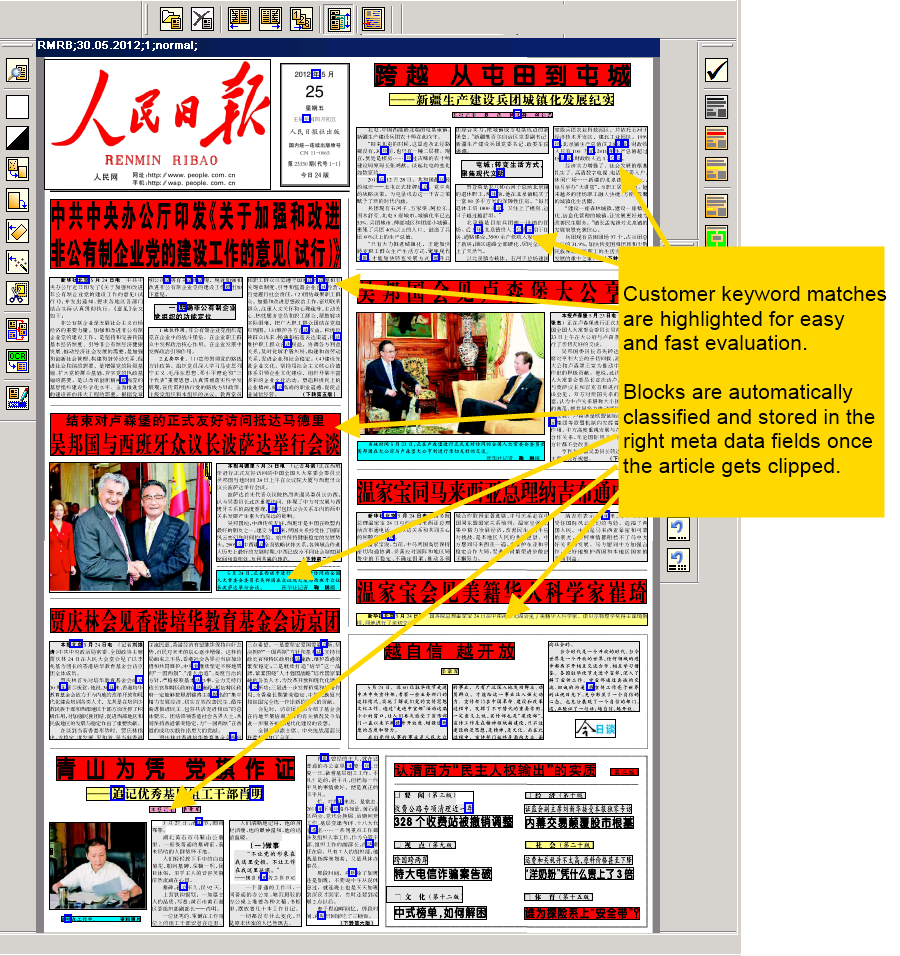 Kalinews - editorial word text processor system for newspapers and ...