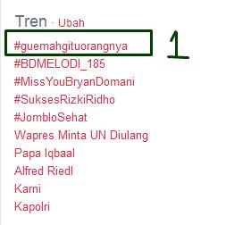 Gue Mah Gitu Orangnya kata lucu tentang tag #guemahgituorangnya