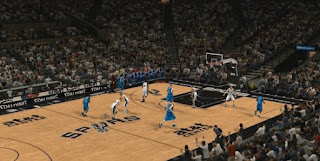 NBA 2K13 San Antonio Spurs Court Floor Update