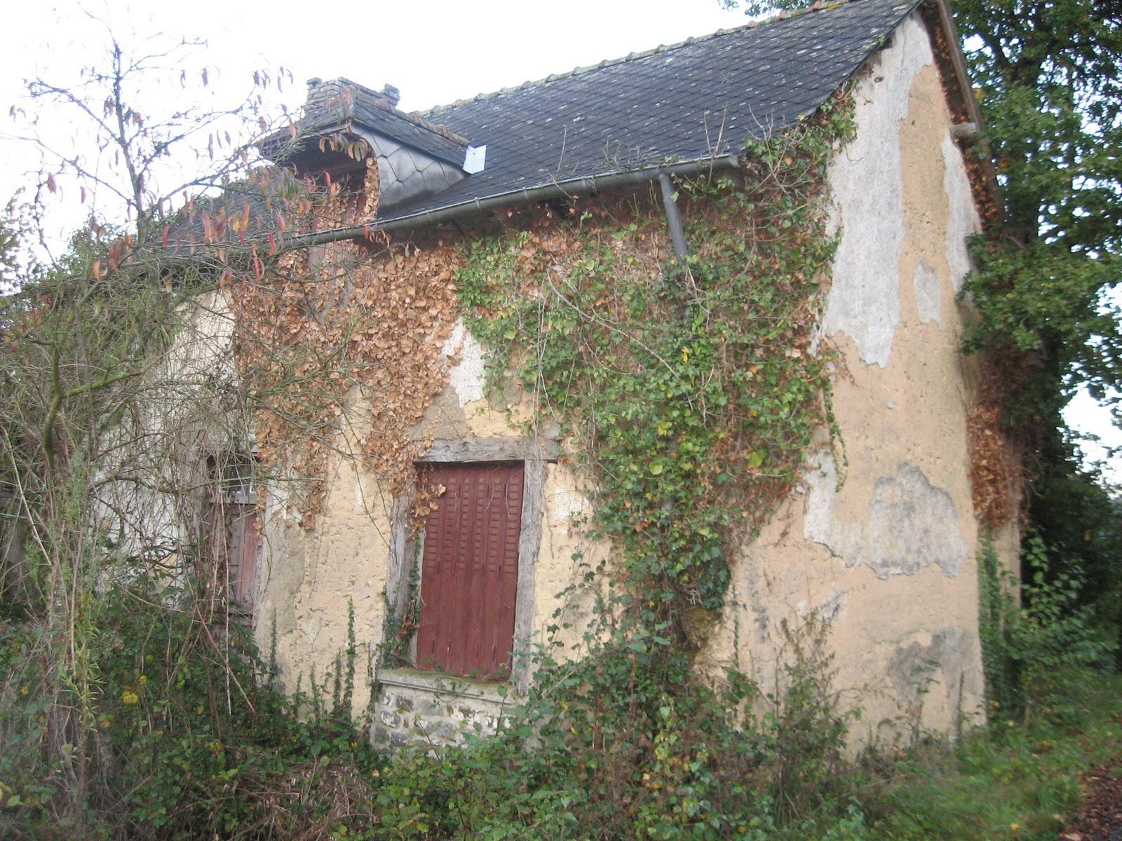 R novation maison en terre bauge loge est for Refection cheminee exterieure