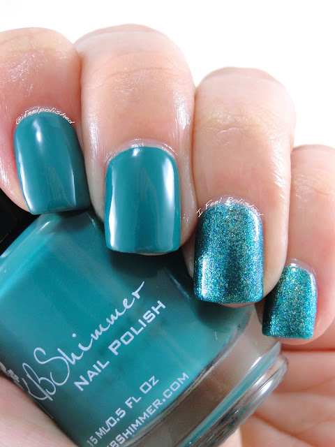 KBShimmer Teal It to My Heart