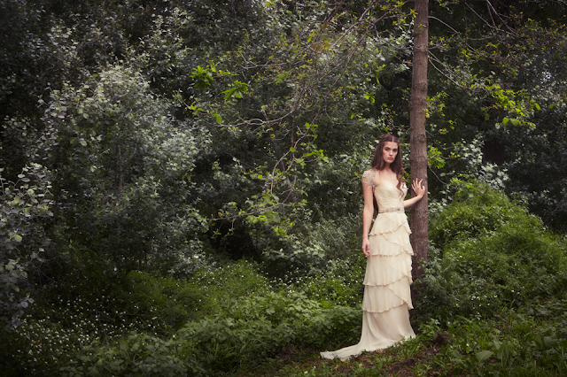 Gwendolynne Burkin Bridal 2013 Spring Collection
