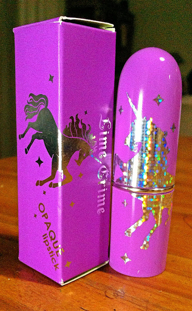 Lime Crime Poisonberry Opaque Lipstick Packaging Unicorn
