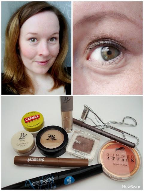 Alltagstaugliches, leichtes Tages-Make-Up