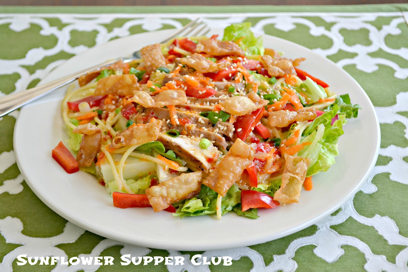 sweet chilli asian chicken salad 1 lb boneless skinless chicken ...