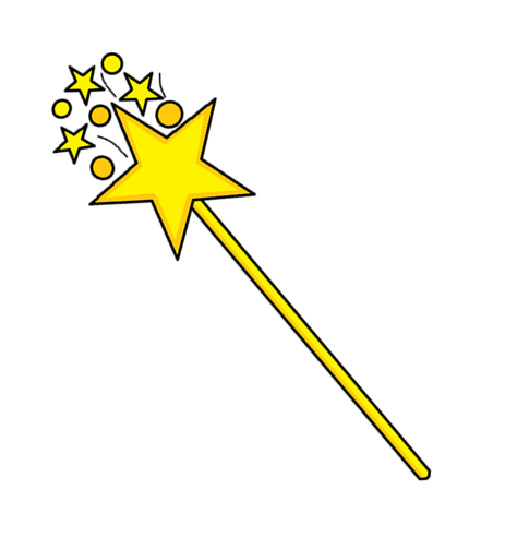 Fairy wand png of magic