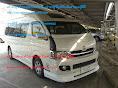 รถตู้โตโยต้า commuter D4Dหรือngv +เบนซินหลังคาสูง ราคาเช่า 1,800-2,000 บาท