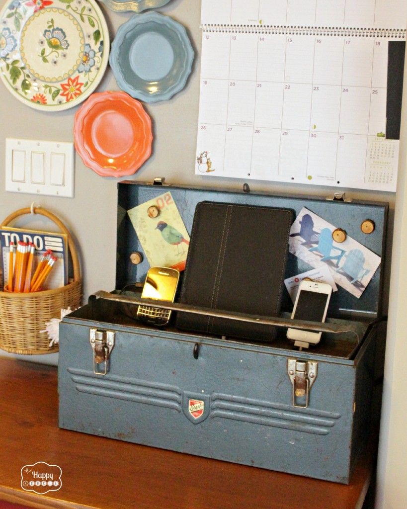 polka dots in the country 10 diy charging stations with hometalk