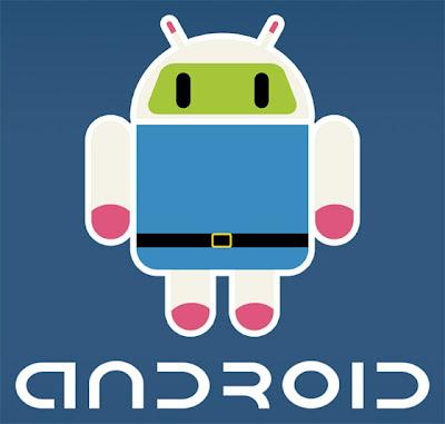 Imagen de la mascota de Android - Bomberman