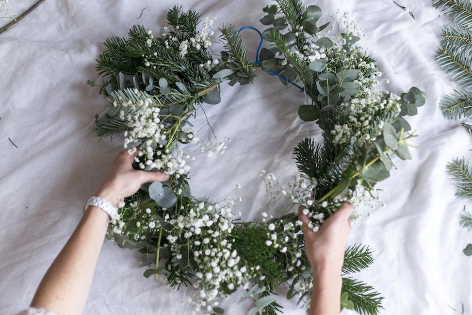 decoraciones navideñas hechas en casa