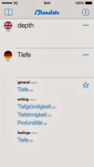 قاموس ومترجم شامل للأيفون والأيباد للترجمة لأكثر من 80 لغة مختلفة iTranslate - translator & dictionary iOS-IPA