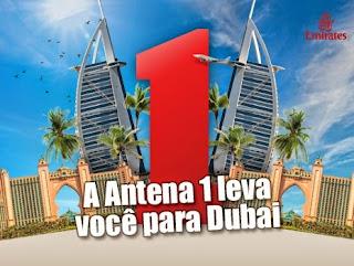 Promoção Antena 1 e Emirates Airline - Dubai