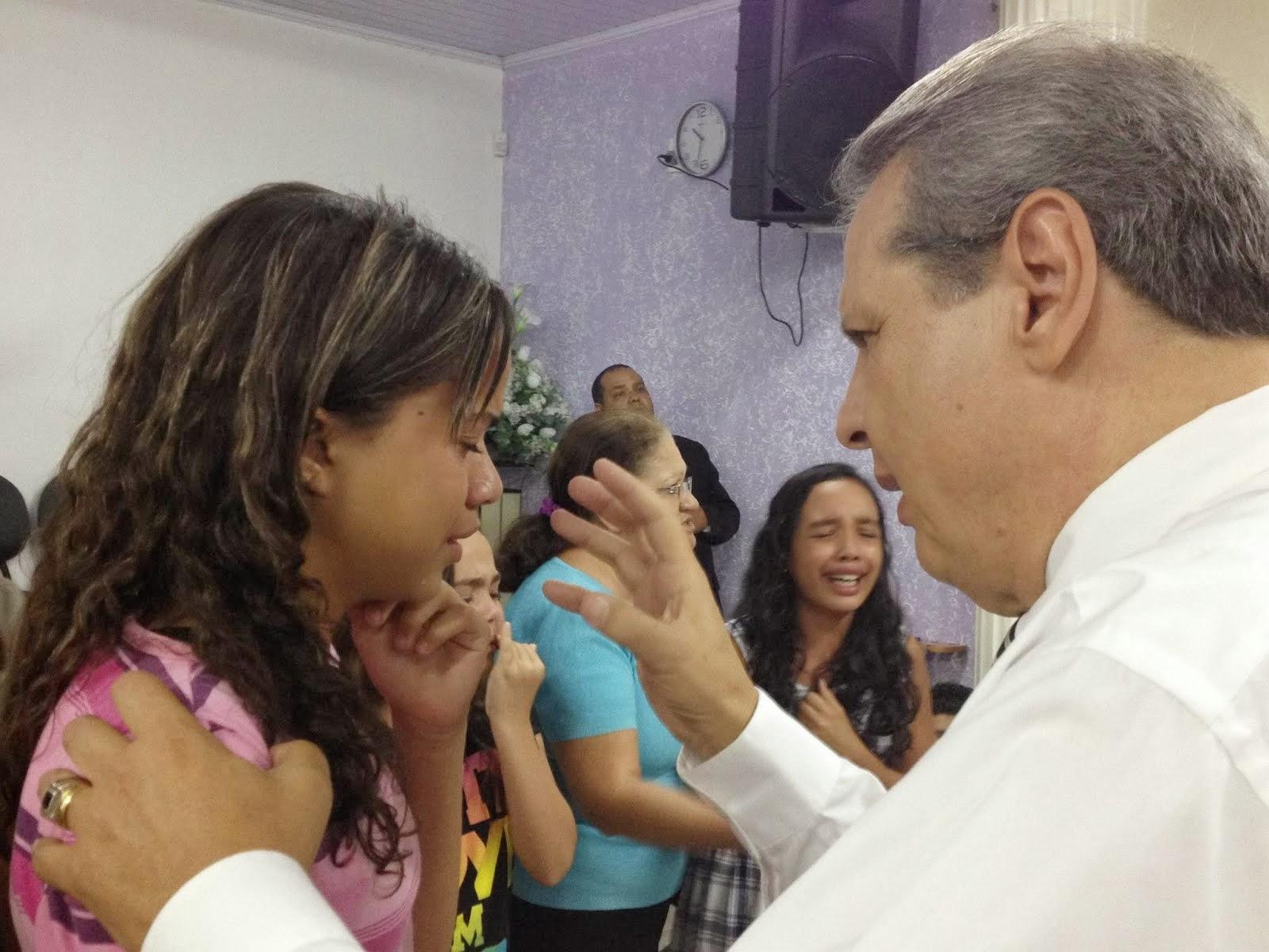 Batismo com o Espírito Santo.