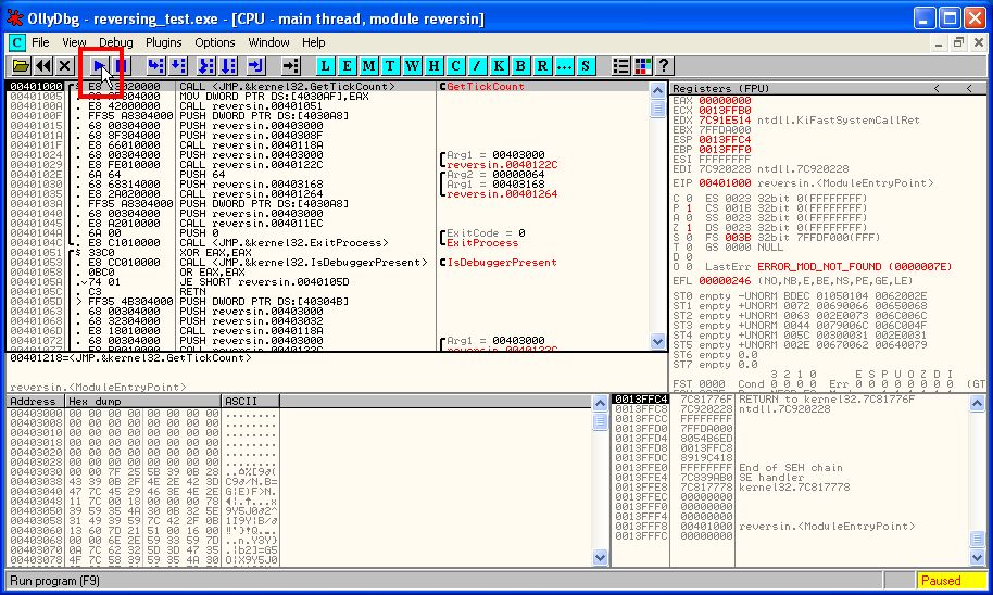 olly debugger 64 bit free download