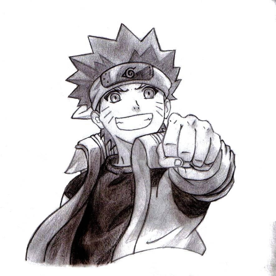 Dibujos Hechos A Lapiz De Naruto Shippuden