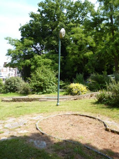 Abandoned Crazy Golf on Exeter Road in Bournemouth, Dorset