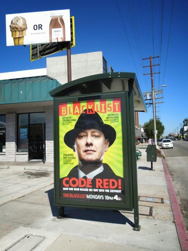 The Blacklist season 2 Wired magazine homage poster