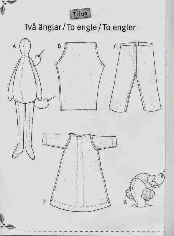 Как сшить халат для тильды 28