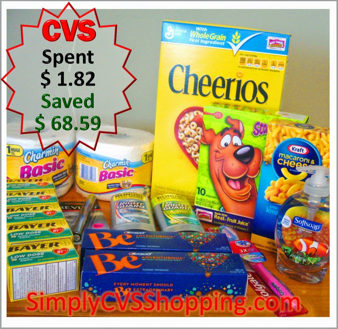 My Week of 6/15 CVS Shopping Trip