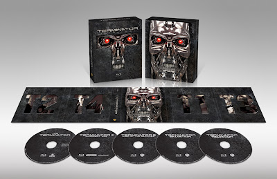 Terminator Anthology Blu-Ray DVD