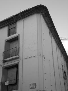 Fachada de casa típica desaparecida de Calatayud