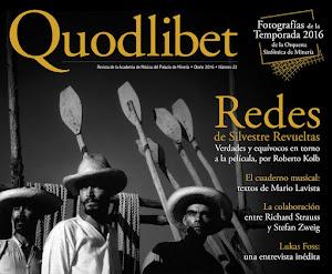 Quodlibet, Otoño de 2016