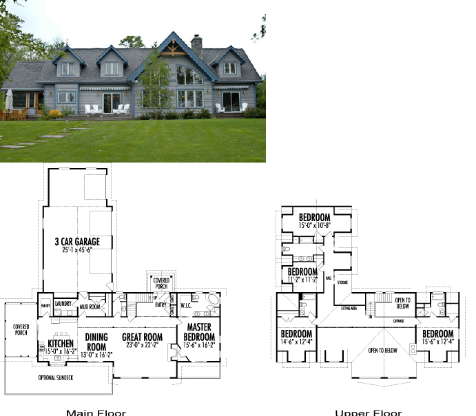 Dise os de casas planos gratis planos casas americanas - Casas americanas planos ...