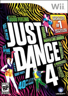 Just Dance 4 game cover