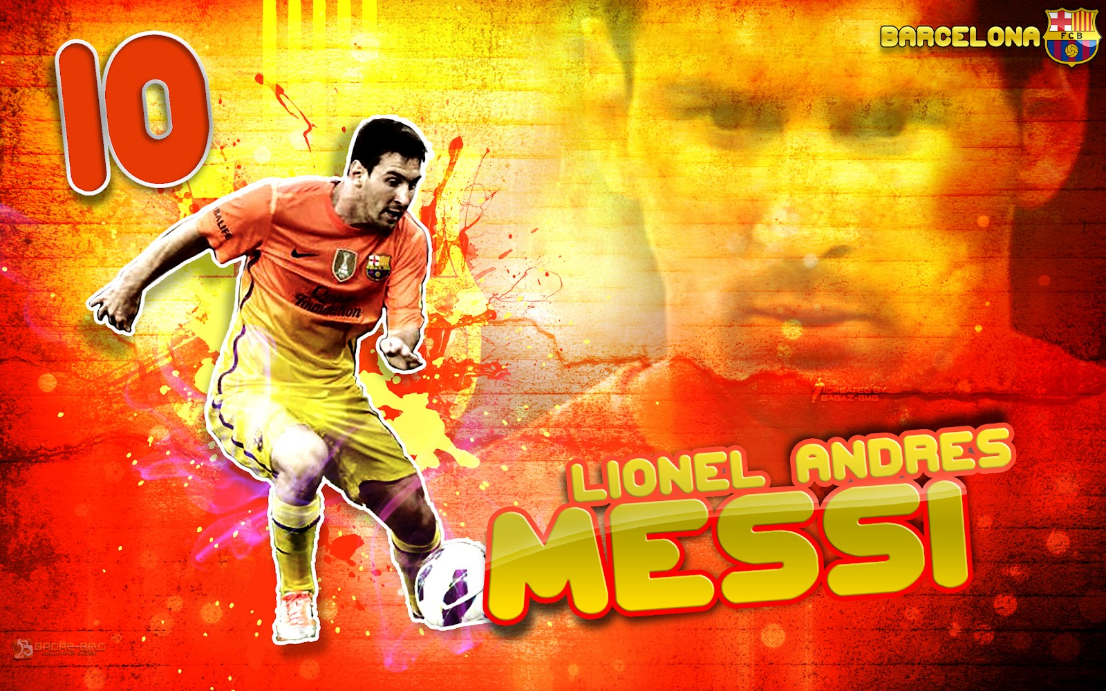 Wallpaper Lionel Andres Messi 2013 picture wallpaper image