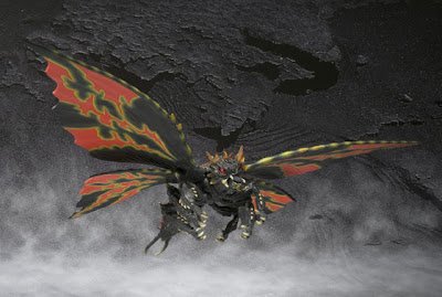 Bandai SH Monsterarts Battra Figure