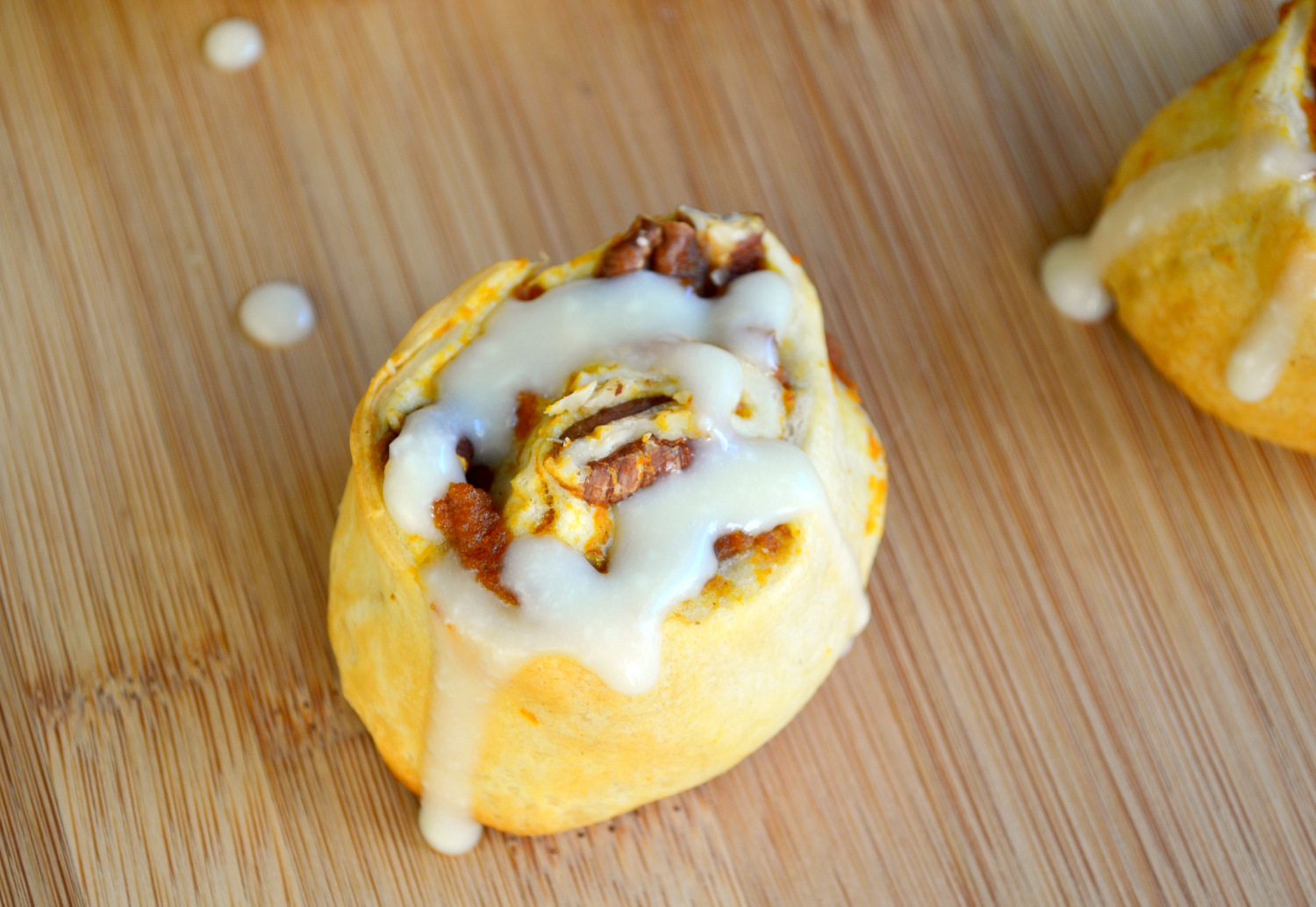 K&K Test Kitchen: Easy Pumpkin Cinnamon Rolls with Maple ...