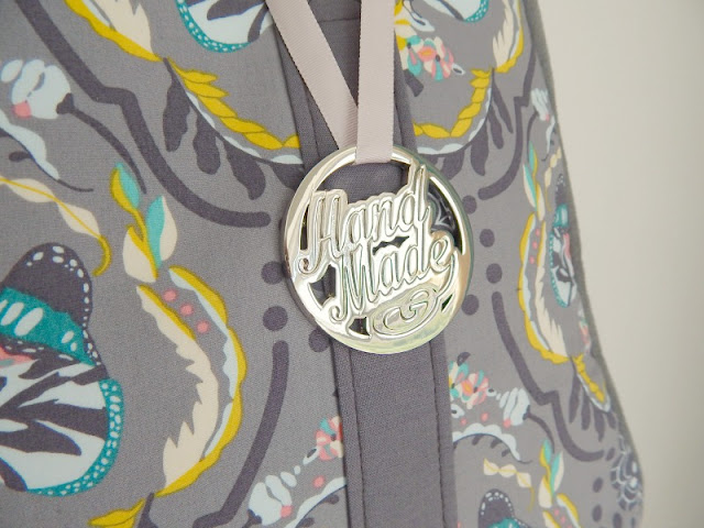 'Handmade' hanging tag from Bobbin Girl
