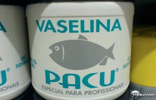 Vaselina pacu