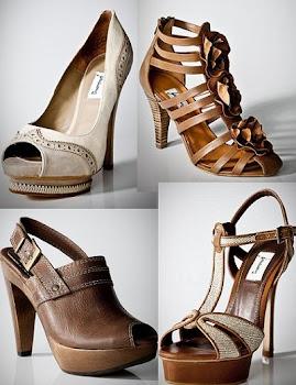 Zapatos en Bershka.