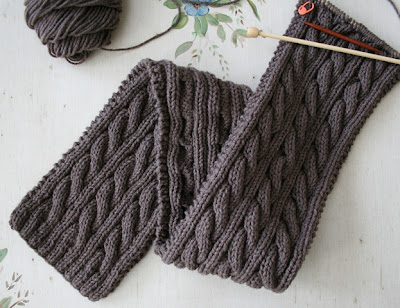 Irish Knitting Patterns Free : IRISH HIKING SCARF KNIT PATTERN FREE KNITTING PATTERNS
