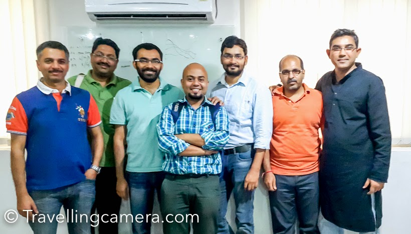 A wonderful day with PHOTO JOURNEY friends in Noida to learn Adobe Photoshop Lightroom