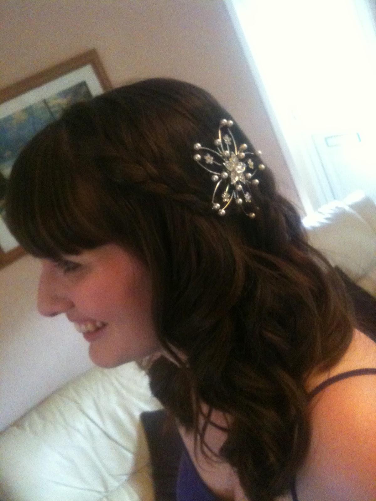Egypt Mill Nailsworth Wedding Hair Styling