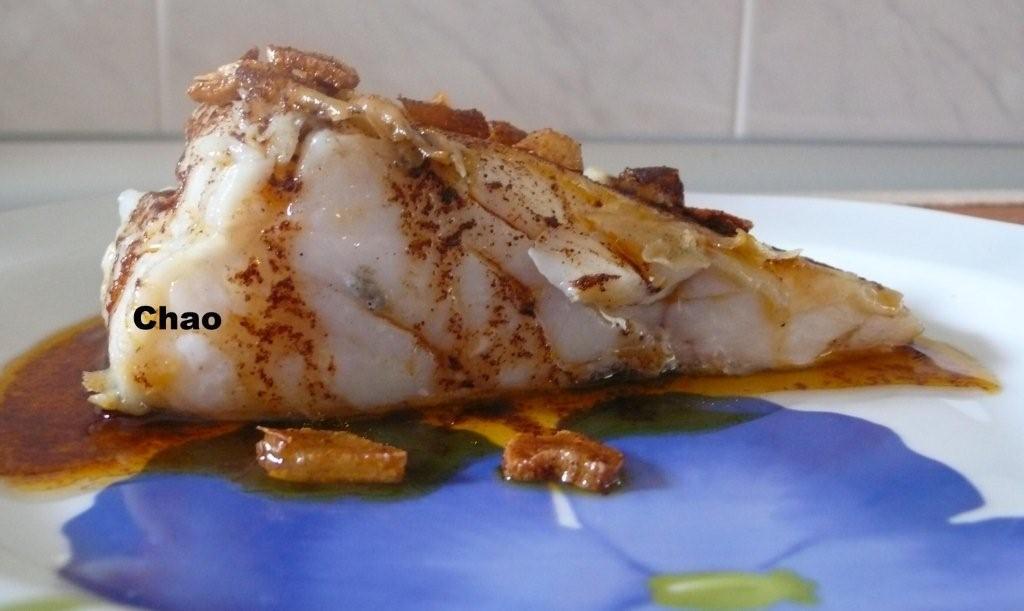 La cocina de chao bacalao a la plancha con ajo y piment n - Cocinar bacalao desalado ...
