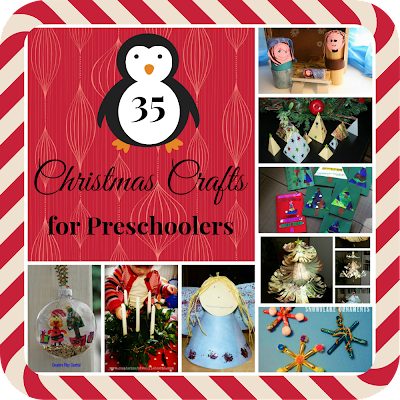 35+ christmas crafts ideas for preschoolers